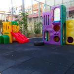 Revestimientos de caucho infantiles de exterior
